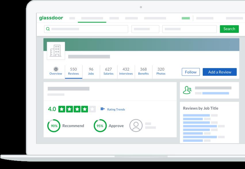Glassdoor được sử dụng bởi các nhà tuyển dụng để tìm kiếm nhân viên